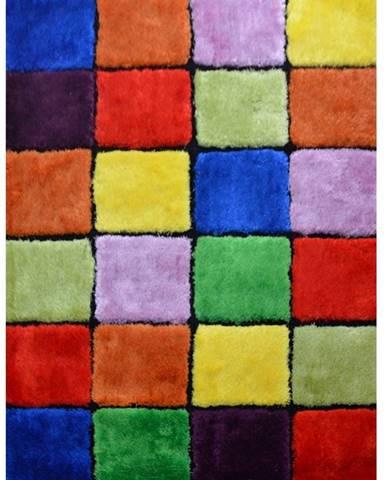 Ludvig Typ 4 koberec 70x210 cm červená