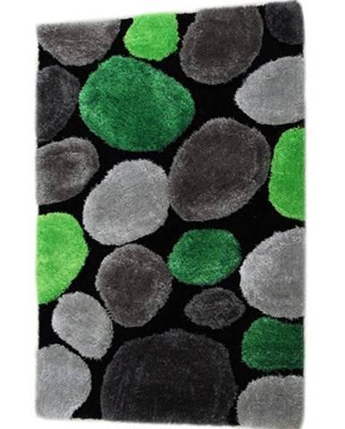 Pebble Typ 1 koberec 70x210 cm zelená