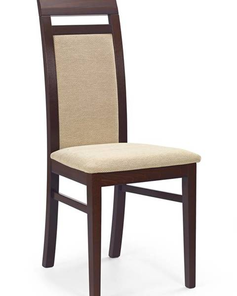 Halmar Albert jedálenská stolička tmavý orech