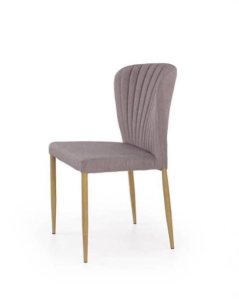 Halmar K236 jedálenská stolička sivá