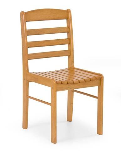 Bruce jedálenská stolička jelša zlatá
