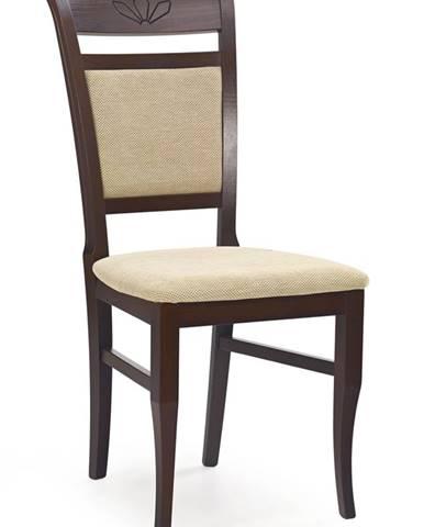 Jakub jedálenská stolička tmavý orech