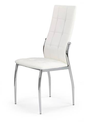 K209 jedálenská stolička biela