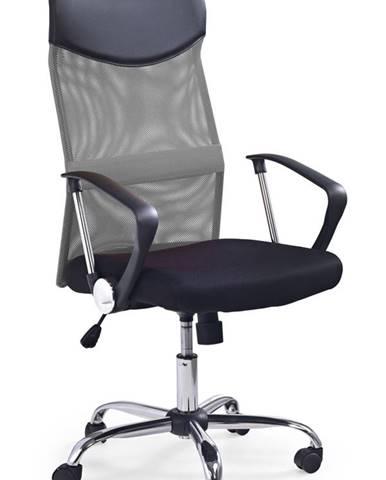 Vire kancelárska stolička s podrúčkami sivá