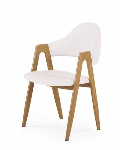 K247 jedálenská stolička biela