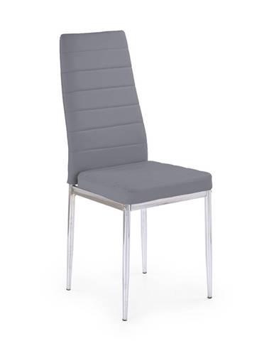 K70C jedálenská stolička sivá