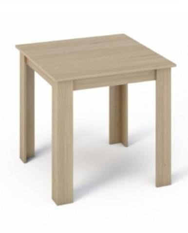 Kraz jedálenský stôl 80x80 cm dub sonoma