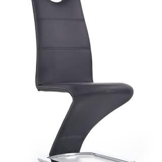K291 jedálenská stolička čierna