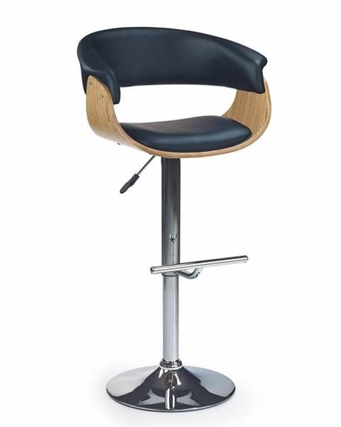 Halmar H-45 barová stolička dub svetlý