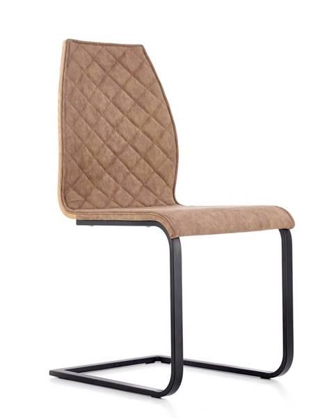 Halmar K265 jedálenská stolička hnedá