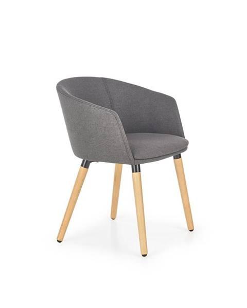 Halmar K266 jedálenská stolička tmavosivá
