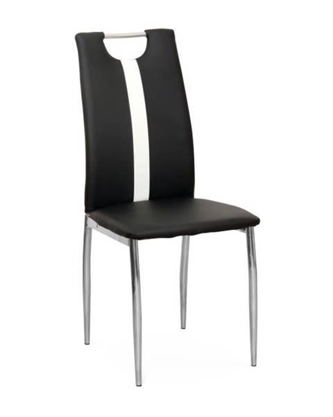 Kondela Signa jedálenská stolička čierna