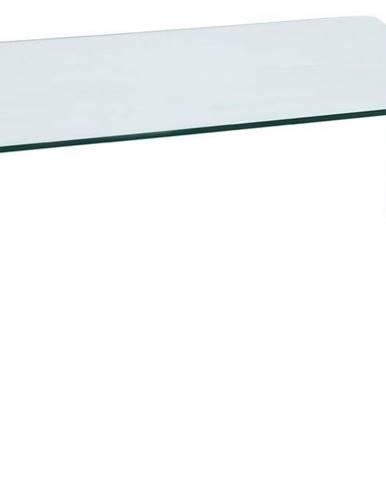 Priam A sklenený konferenčný stolík priehľadná
