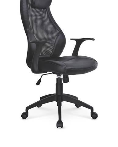 Torino kancelárske kreslo s podrúčkami čierna