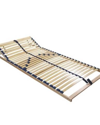 Twinflex polohovateľný lamelový rošt 90x200 cm brezové drevo