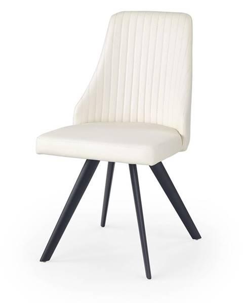 Halmar K206 jedálenská stolička biela