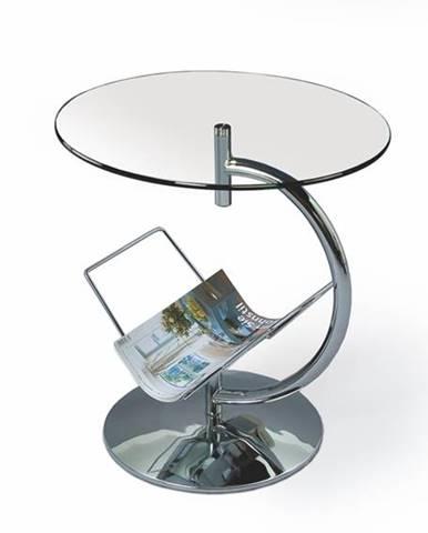 Alma sklenený konferenčný stolík priehľadná