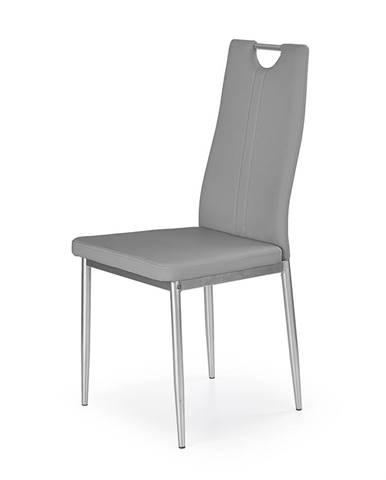 K202 jedálenská stolička sivá