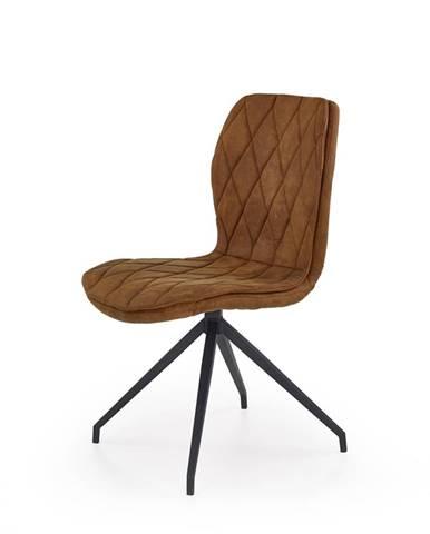 K237 jedálenská stolička hnedá