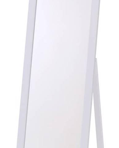 LS1 stojacie zrkadlo biela