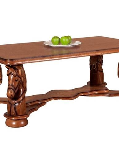 Mustang konferenčný stolík drevo D5