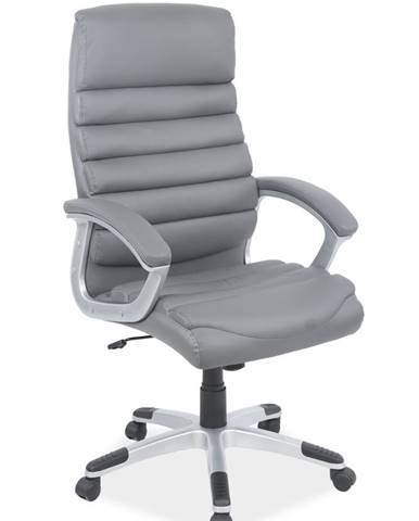 Q-087 kancelárske kreslo sivá