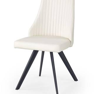 K206 jedálenská stolička biela