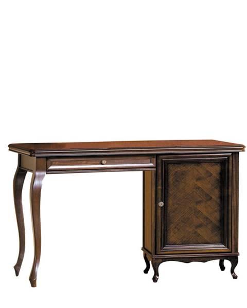 TARANKO Wersal W rustikálny písací stôl wenge