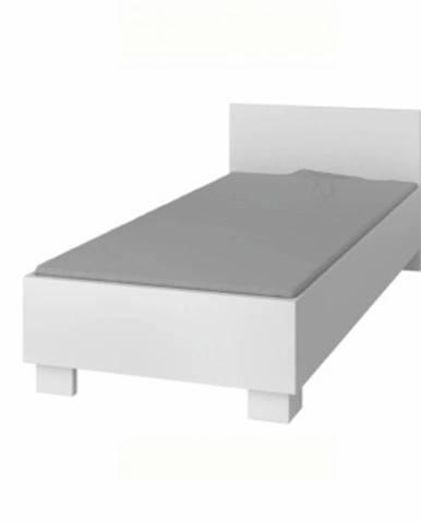 Svend Typ 36 90 jednolôžková posteľ biela