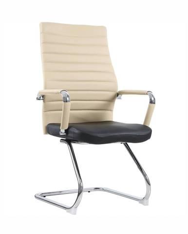 Drugi Typ 2 konferenčná stolička béžová