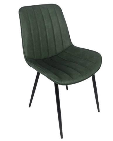 Hazal jedálenská stolička zelená