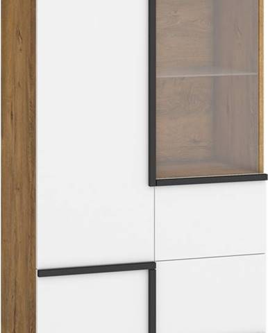 Lars LAR-13 vitrína dub burgundský