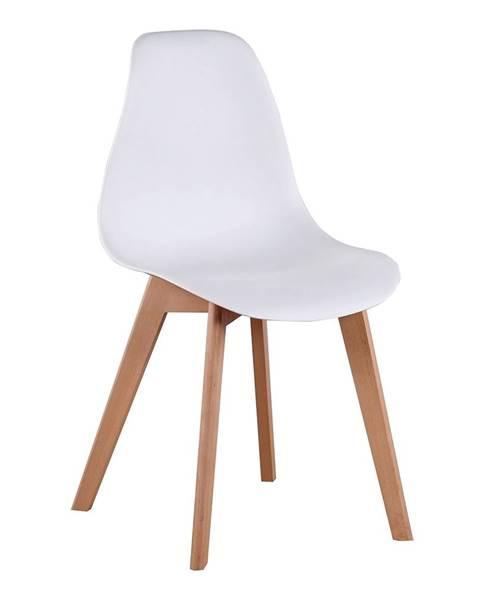 Kondela Ayna jedálenská stolička biela