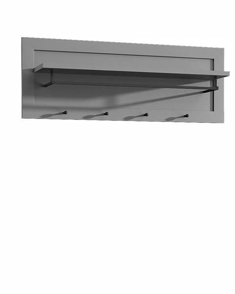 Kondela Provance WP vešiakový panel sivá