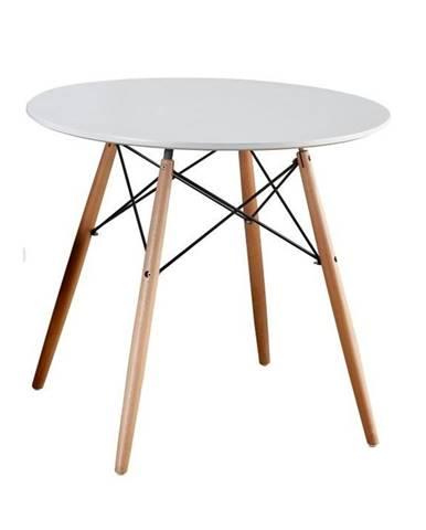 Gamin 80 New okrúhly jedálenský stôl biela