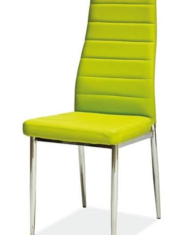 H-261 jedálenská stolička zelená
