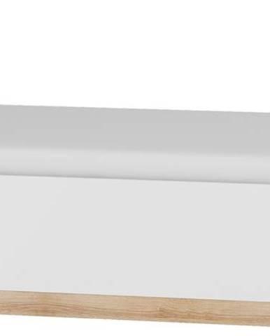 Maximus MXS-19 90 jednolôžková posteľ s roštom sonoma svetlá