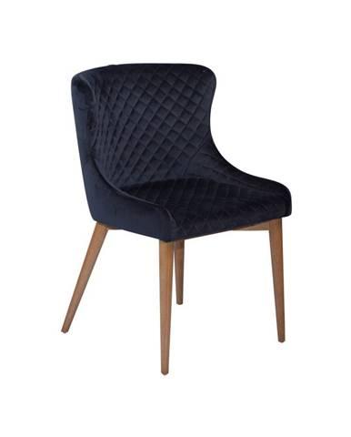 Tmavomodrá jedálenská stolička DAN-FORM Denmark Vetro