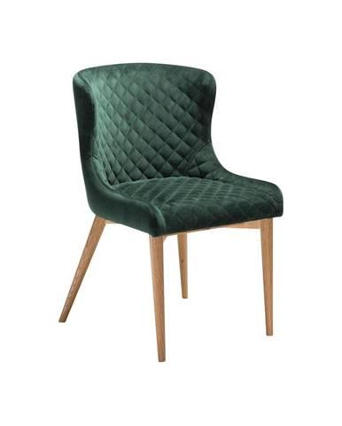Tmavozelená jedálenská stolička DAN-FORM Denmark Vetro