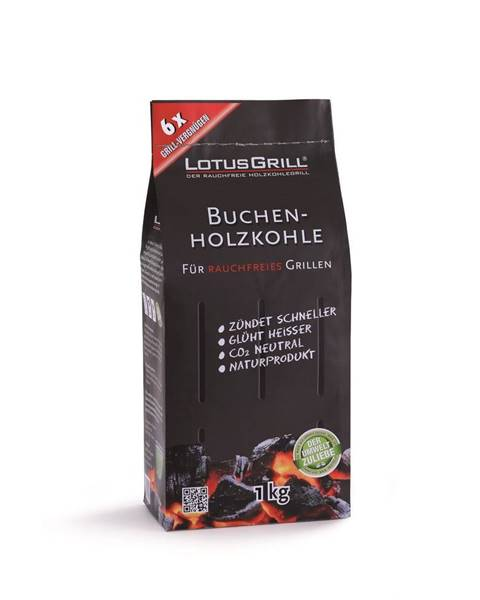 LotusGrill Drevené uhlie LotusGrill,1kg