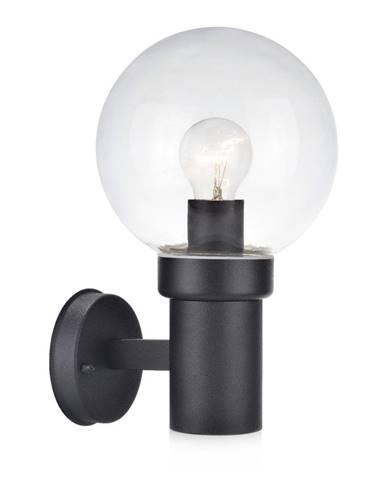 Čierne nástenné svietidlo Markslöjd Caris