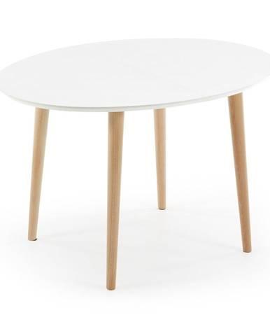 Rozkladací jedálenský stôl La Forma Oakland, 120 x 90 cm