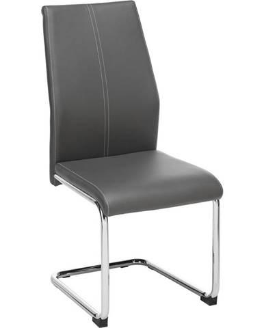 stolička Eni-based sivá