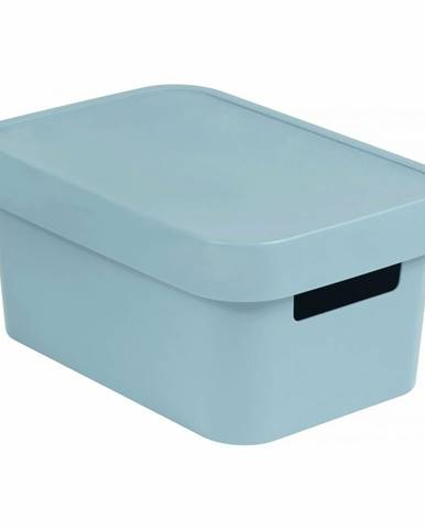 Curver Úložný box INFINITY 4,5l s víkem šedý