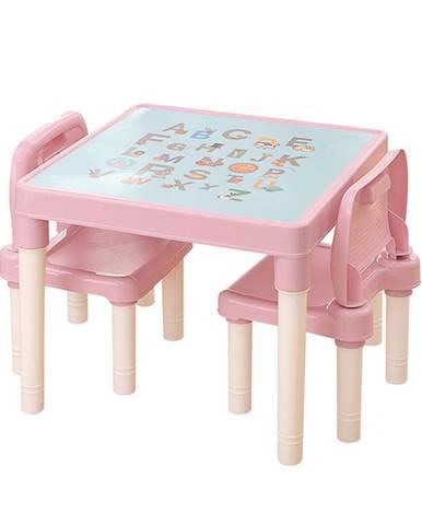 Tempo Kondela, s.r.o. Dětský set 1+2, růžová/korálová, BALTO