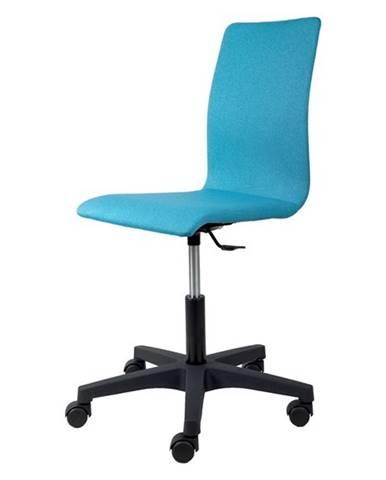 Kancelárska stolička FLEUR tyrkysová
