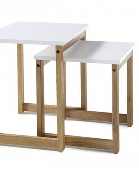 OKAY nábytok Konferenčný stolík Juvena - set 2 kusov