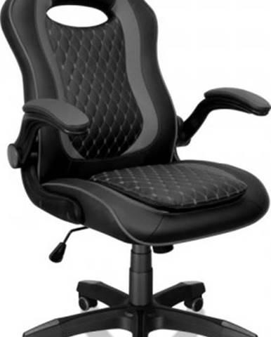 Herná stolička Connect IT Matrix Pro, čierna CGC-0600-BK + ZDARMA podložka pod myš a hub