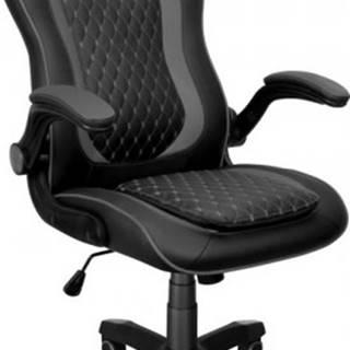 Herná stolička Connect IT Matrix Pro, čierna CGC-0600-BK