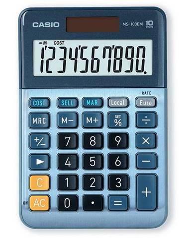 Kalkulačka Casio MS 100 EM modr